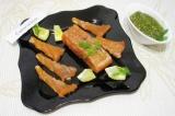 Готовое блюдо: лосось по-шведски