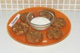 Готовое блюдо: арахисовые сырники в духовке