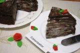 Готовое блюдо: блинный торт Шоколадный восторг