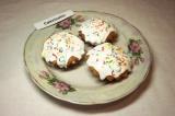 Готовое блюдо: кексы с глазурью