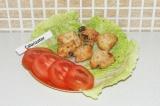 Готовое блюдо: куриная грудка в мятном маринаде