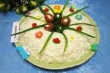 Готовое блюдо: салат Пасхальный венок