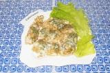 Готовое блюдо: куриное филе в овсянке