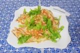 Готовое блюдо: морковный омлет
