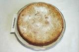 Готовое блюдо: овсяный яблочный пирог