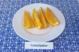 Готовое блюдо: апельсин с медом и имбирем