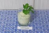 Готовое блюдо: зеленый коктейль для очищения