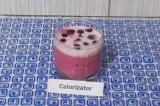 Готовое блюдо: ягодный коктейль с кефиром