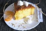 Готовое блюдо: апельсиново-кукурузный пирог