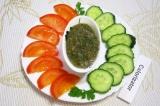 Готовое блюдо: заправка для овощей