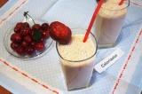Готовое блюдо: фруктовый молочный коктейль