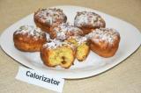 Готовое блюдо: творожные кексы с изюмом