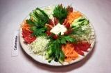 Готовое блюдо: овощное ассорти летнее