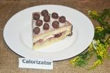 Готовое блюдо: торт бисквитный с вишнями