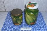 Готовое блюдо: соленые огурцы на зиму