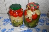 Готовое блюдо: ассорти овощное на зиму