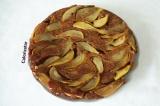 Готовое блюдо: грушево-кофейный пирог