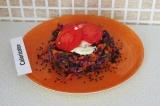 Готовое блюдо: салат с домашним майонезом