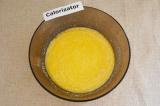 Шаг 4. Сливочное масло растопить, добавить к остальным ингредиентам.