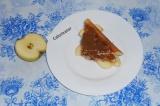 Шаг 8. Украсить каждую порцию свежим яблочком.