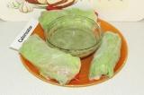 Спрингроллы с овощами и соусом