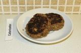 Готовое блюдо: котлетки из баклажанов