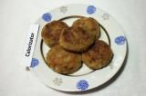 Готовое блюдо: котлеты из баклажанов