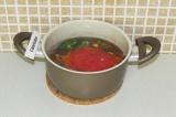 Шаг 8. Добавить овощи в кастрюлю с фасолью.