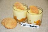 Молочный пудинг с абрикосами