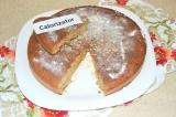 Готовое блюдо: кекс с бананом и белым шоколадом