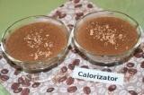 Готовое блюдо: шоколадно-кофейное желе