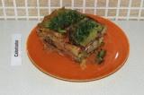 Готовое блюдо: лазанья с брокколи