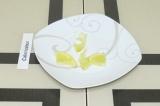 Шаг 2. Кружочек лимона нарезать на мелкие кусочки.