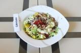 Готовое блюдо: салат с пророщенной чечевицей
