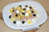 Готовое блюдо: салат белковый (с кроликом)