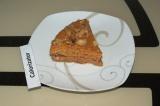 Готовое блюдо: морковный пирог с орехами