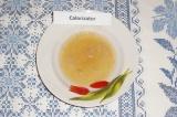 Шаг 2. Поместить желатин в СВЧ печь на 1 минуту до полного растворения.