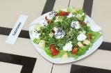 Готовое блюдо: фитнес-салат с микрозеленью
