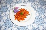 Готовое блюдо: морковь фри