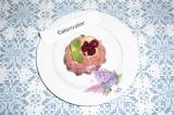 Готовое блюдо: творожно-вишневая запеканка без муки
