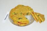 Готовое блюдо: нутовый омлет