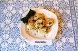 Готовое блюдо: котлеты из творога и овощей