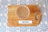 Шаг 5. Готовый мусс разлить по формам и оставить в холодильнике на 30-40 минут.