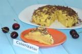 Банановый блинный торт с кремом