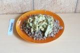 Готовое блюдо: грибная подлива на кокосовом молоке