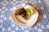 Готовое блюдо: блинчики из печени и кабачка