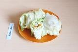 Готовое блюдо: голубцы из свежих овощей