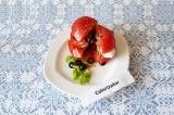 Готовое блюдо: салат а-ля Капрезе