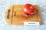 Шаг 8. Слой за слоем «собрать» помидор.