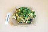 Готовое блюдо: киноа с овощами